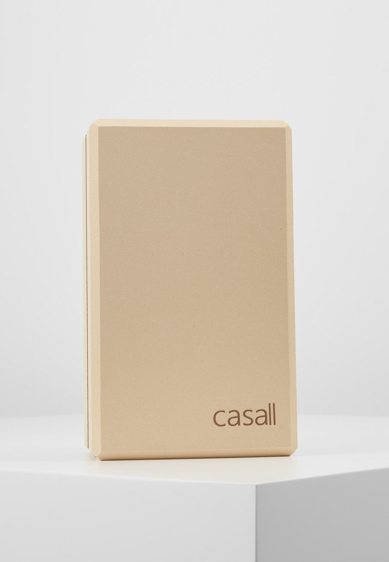 Casall - YOGA BLOCK - Fitness / Yoga - beige