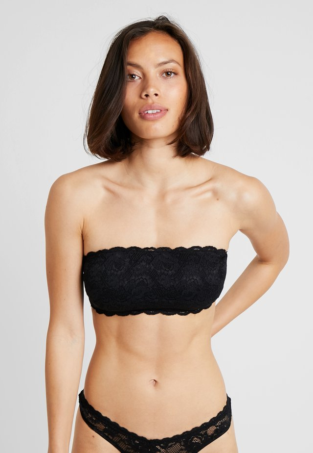 NEVER SAY NEVER FLIRTIE - Bustier - black