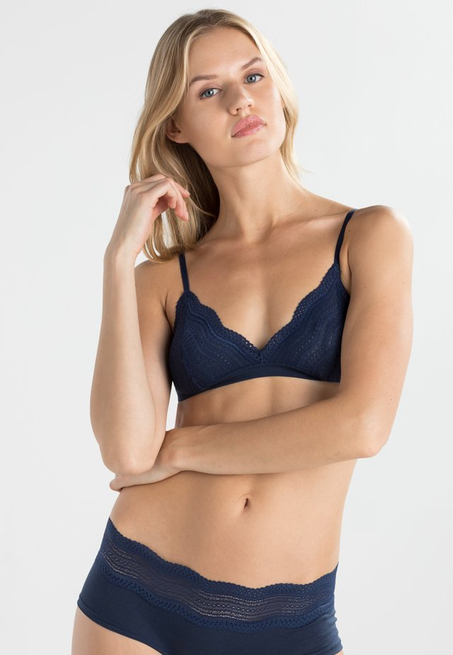 DOLCE - Triangle bra - navy