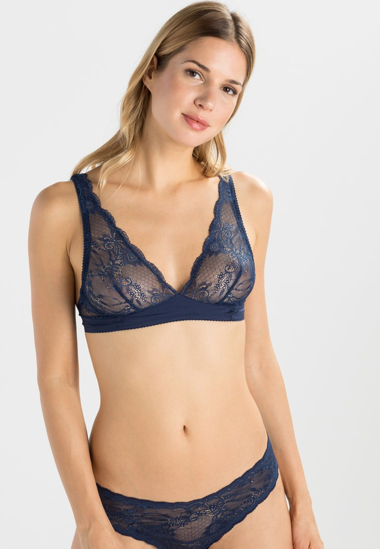 Cosabella - TRENTA - Triangle bra - navy blue