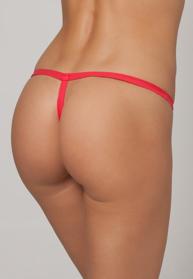 BLUSH - Thong - rossetto