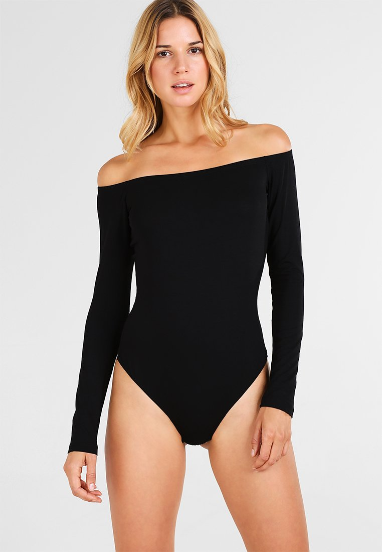 Cosabella - MINIMALISTA OFF SHOULDER  - Body - black