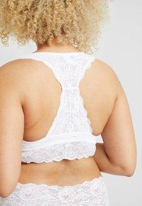 Cosabella - NEVER SAY NEVER PLUS GIRLIE RACERBACK BRALETTE - Bustier - white - 3