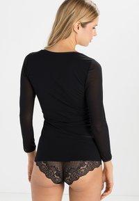 Cosabella - VERONA  - Pyjamashirt - black - 2