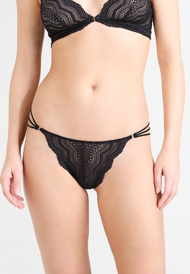 CEYLON THONG - String - black
