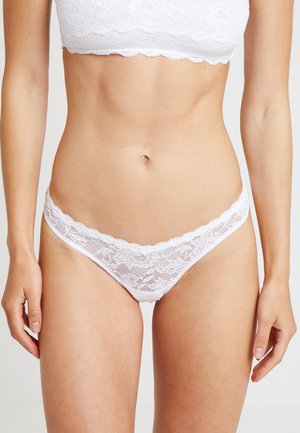 ROXIE V THONG - String - white