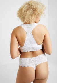 Cosabella - NEVER SAY NEVER PLUS CUTIE THONG - Stringit - white - 2