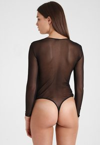Cosabella - SOIRE HIGH LEG TEDDY - Body - black - 2