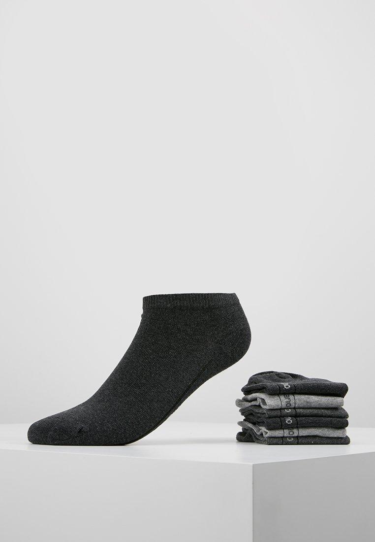 camano - SPORT SNEAKER 6 PACK - Enkelsokken - dark grey melange