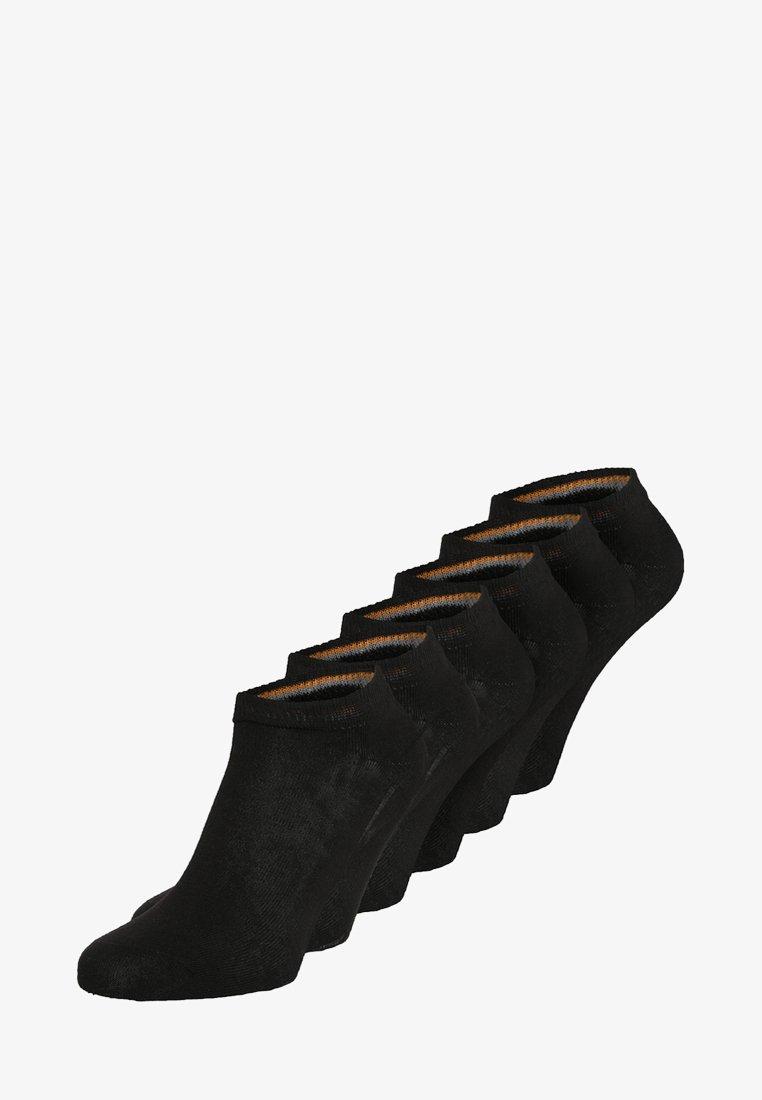 camano - SPORT SNEAKER 6 PACK - Füßlinge - black