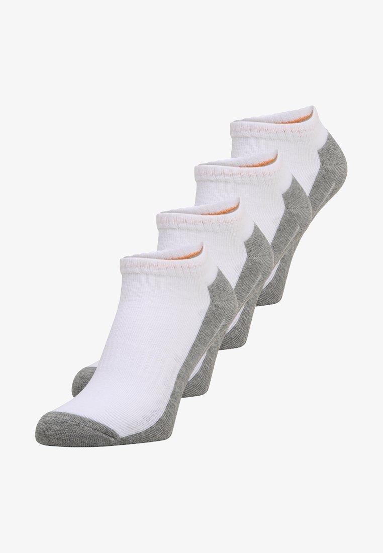 camano - SNEAKER 4 PACK - Trainer socks - white