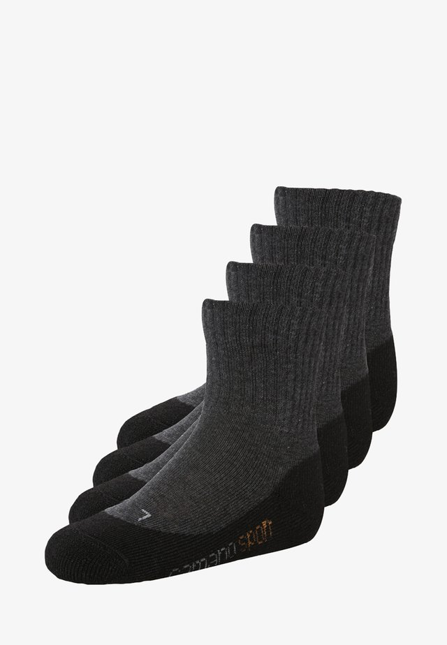 4 PACK - Chaussettes - black