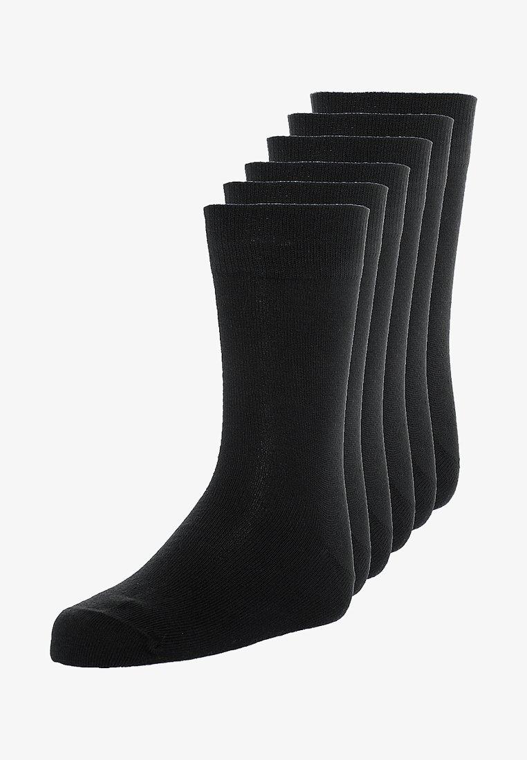camano - BASIC 6 PACK - Strømper - black