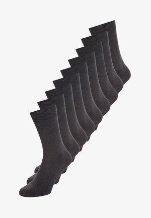 9 PACK - Socks - anthracite melange