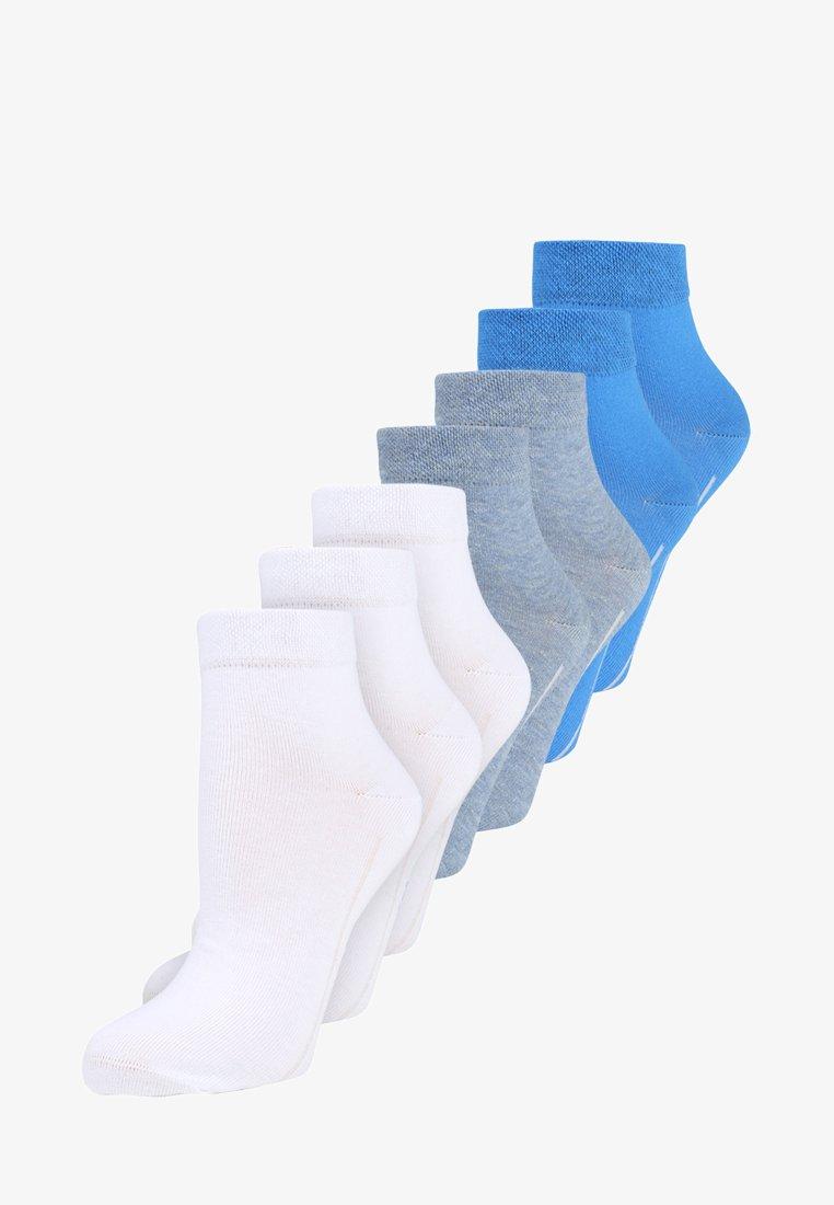 camano - BOX 7 PACK - Socks - campanula/jeans