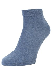 camano - BOX 7 PACK - Socks - denim melange/stone melange/navy