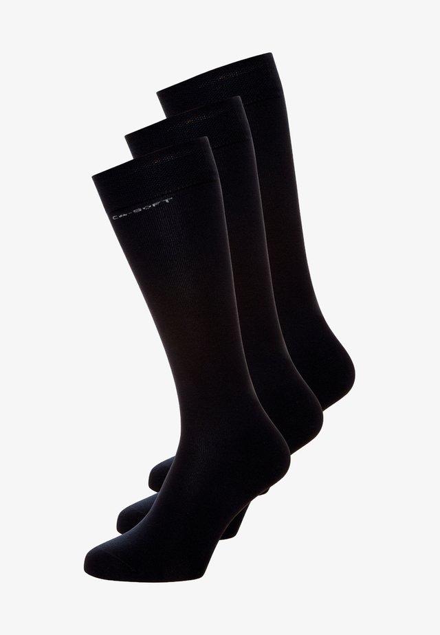 3PACK - Kniekousen - black