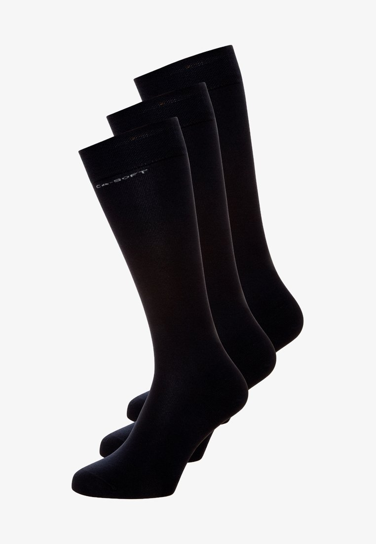 camano - 3PACK - Knee high socks - black
