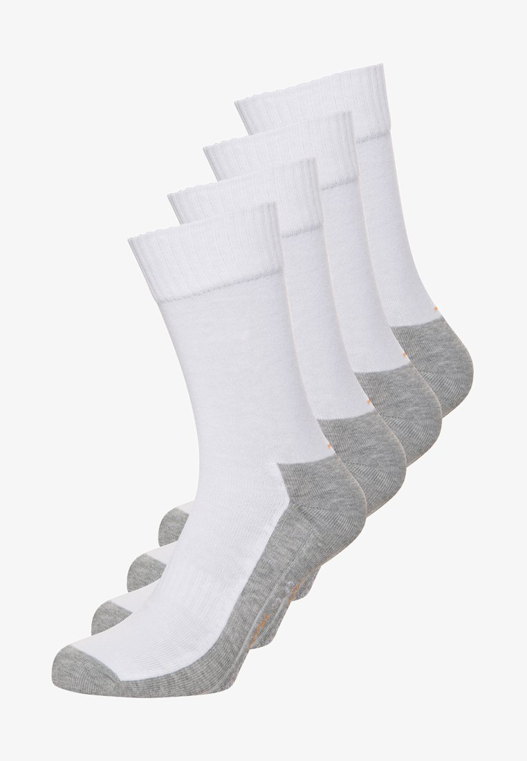 camano - 4 PACK - Sports socks - white