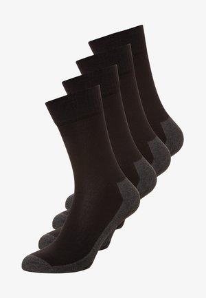 4 PACK - Calcetines de deporte - black