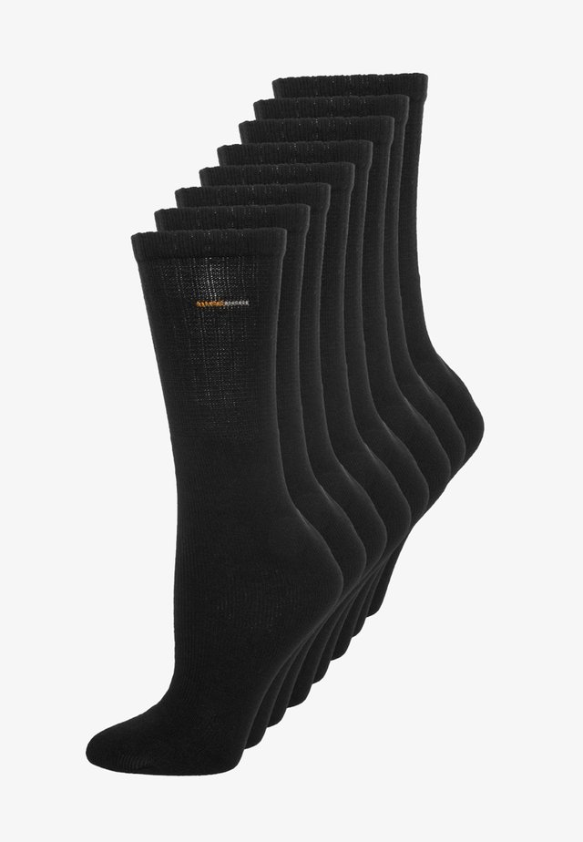 8 PACK - Sports socks - black