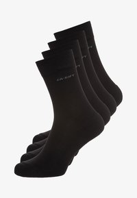 camano - SOFT WALK 4 PACK - Socks - black - 0