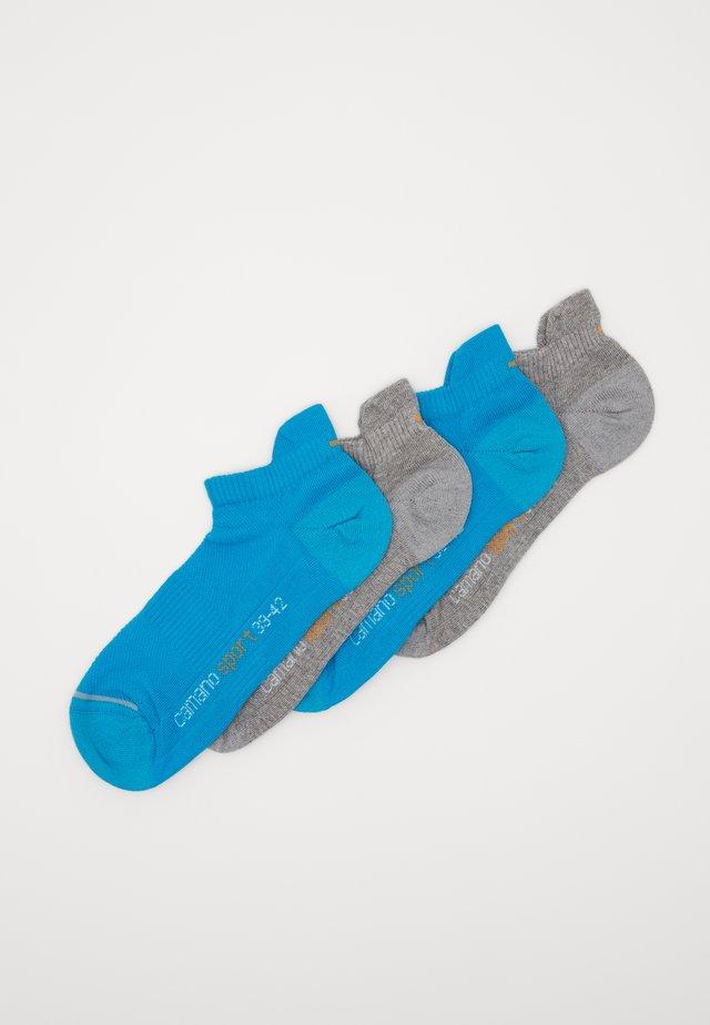 ONLINE SPORT UNISEX FASHION SNEAKER 4 PACK - Sokletter - turquoise