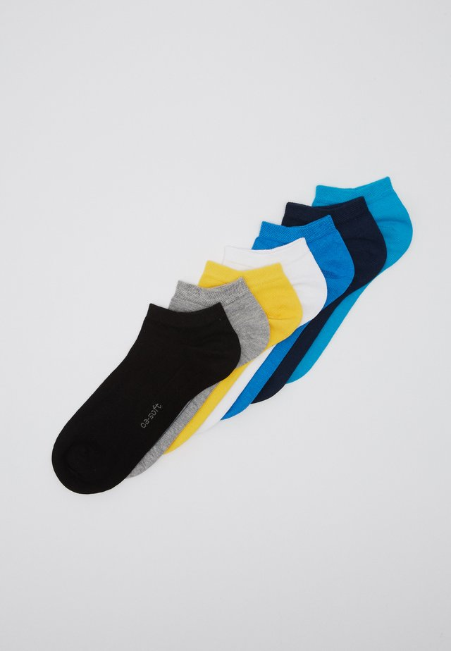 ONLINE UNISEX BASIC SNEAKER 7 PACK - Chaussettes - turquoise