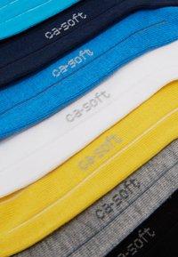 camano - ONLINE UNISEX BASIC SNEAKER 7 PACK - Socks - turquoise - 2