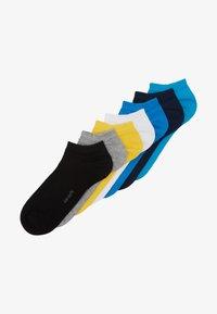 camano - ONLINE UNISEX BASIC SNEAKER 7 PACK - Socks - turquoise - 1