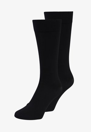 60 DEN EVERYDAY  2 PACK - Chaussettes hautes - black