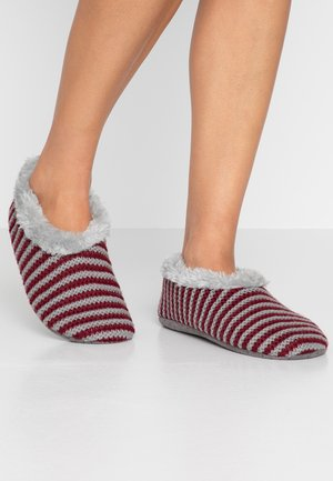 HOME SLIPPER 1 PACK - Pantoffels - bordeaux