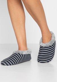 camano - HOME SLIPPER 1 PACK - Domácí obuv - blue - 0