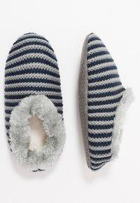 camano - HOME SLIPPER 1 PACK - Domácí obuv - blue - 3