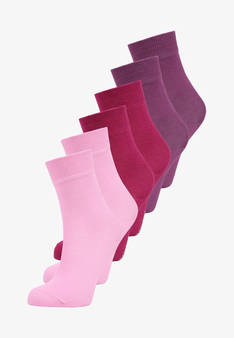 camano - SOFT 6 PACK - Ponožky - purple/red