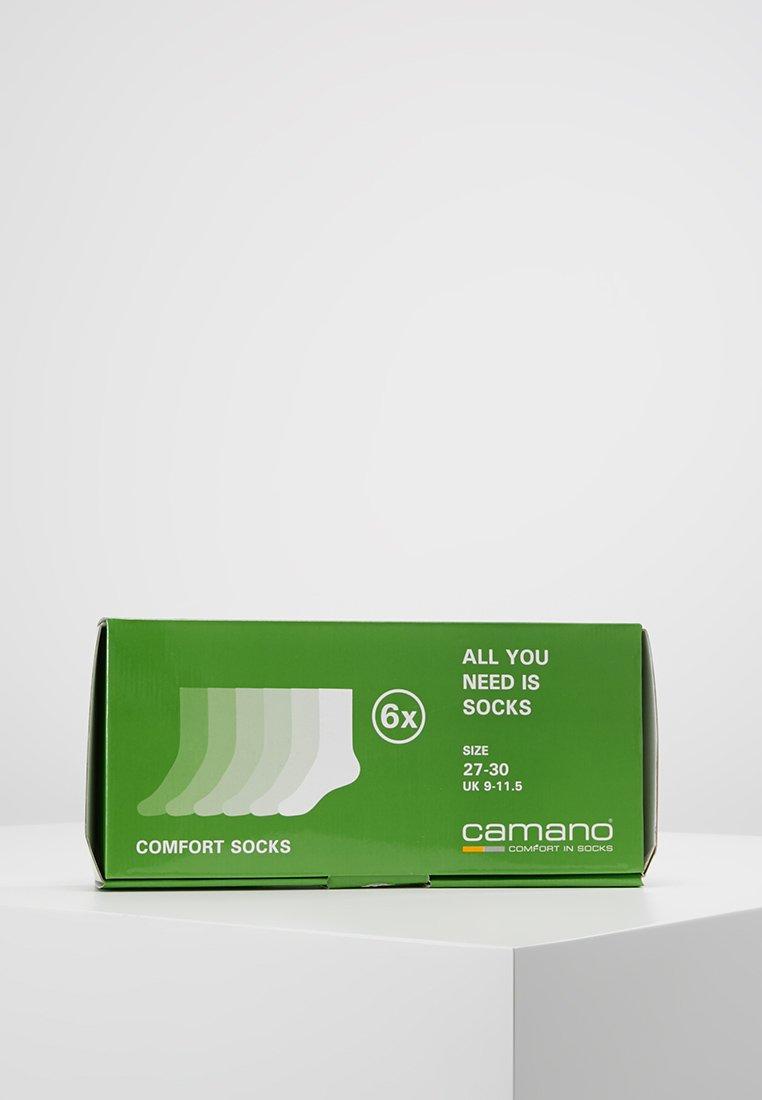 camano - SOFT 6 PACK - Ponožky - chalk pink melange