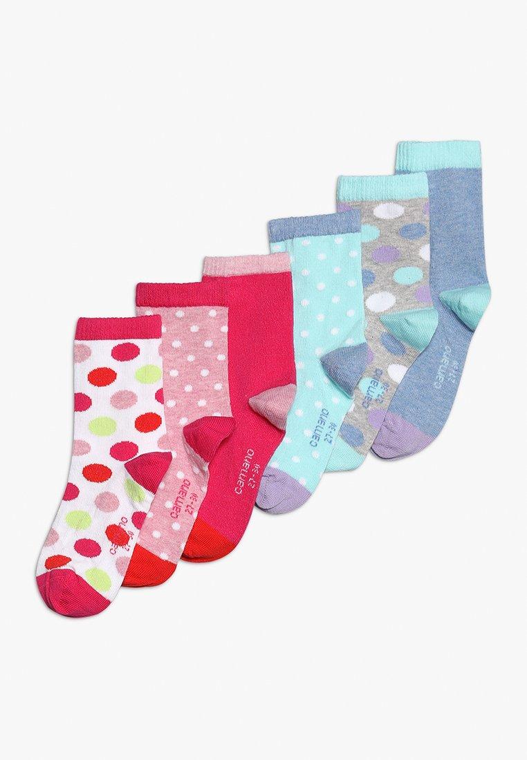 camano - FASHION 6 PACK  - Socks - pool blue