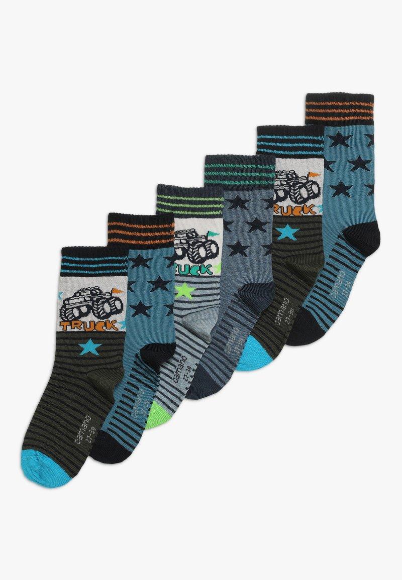 camano - CHILDREN FASHION 6 PACK - Socken - light grey melange