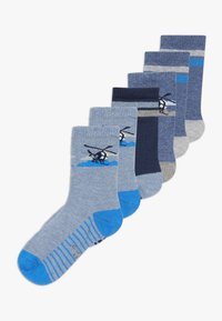 camano - ONLINE CHILDREN FASHION 6 PACK - Calcetines - blue - 0