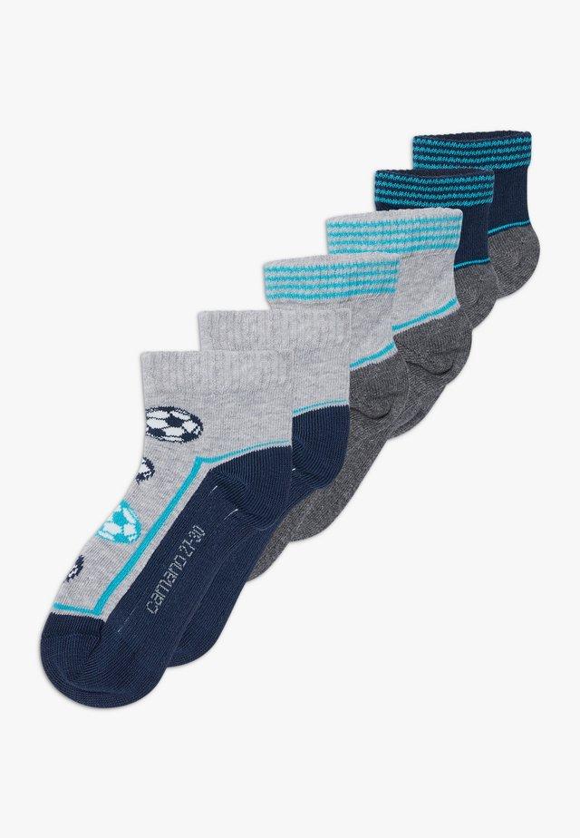 ONLINE CHILDREN FASHION QUARTER 6 PACK - Socks - blue