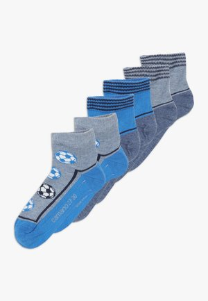 ONLINE CHILDREN FASHION QUARTER 6 PACK - Chaussettes - french blue