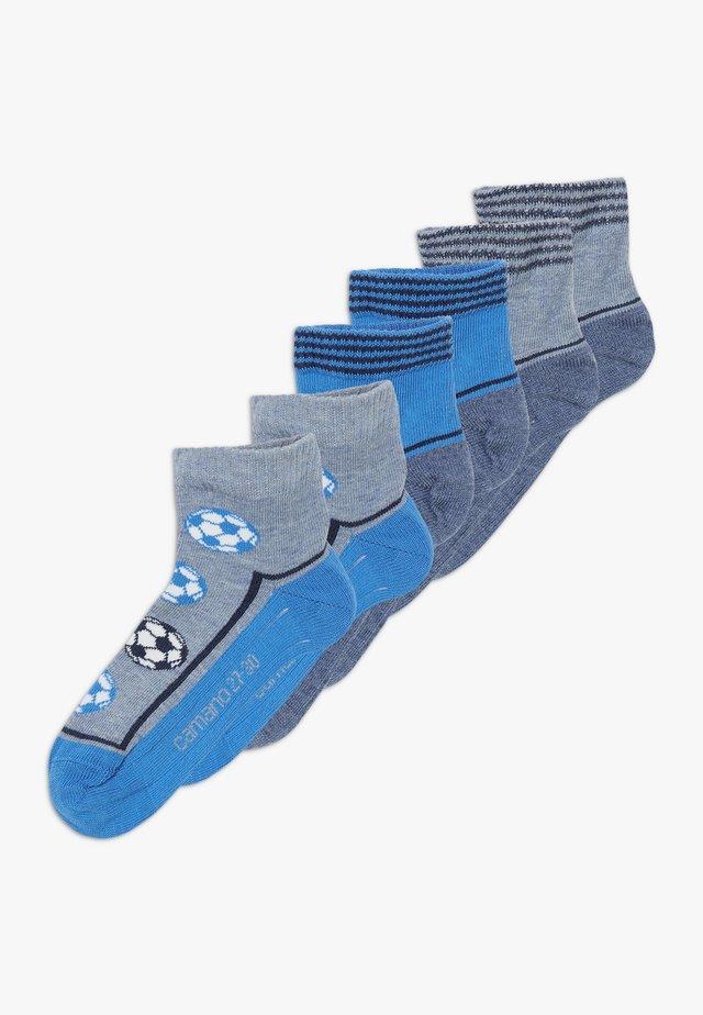 ONLINE CHILDREN FASHION QUARTER 6 PACK - Socks - french blue