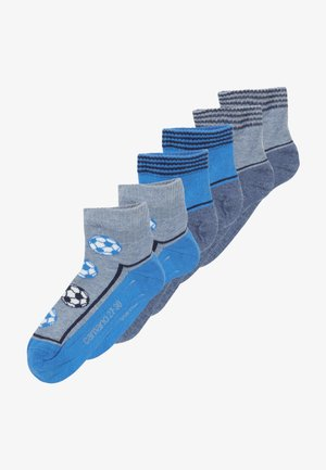 ONLINE CHILDREN FASHION QUARTER 6 PACK - Calcetines - french blue