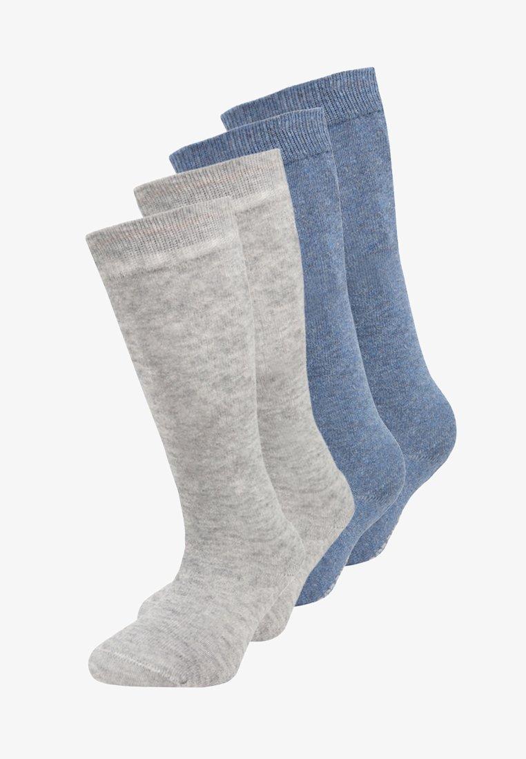 camano - SOFT KNEE 4 PACK - Knee high socks - denim melange
