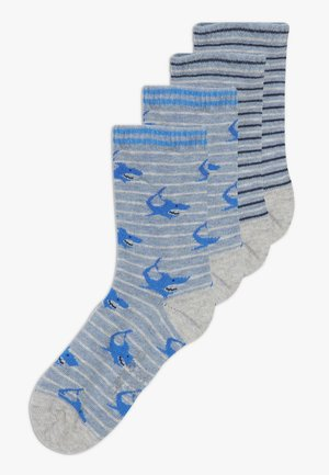 ONLINE CHILDREN FASHION 4 PACK - Calcetines - french blue