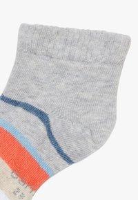 camano - ONLINE CHILDREN FASHION QUARTER 6 PACK - Ponožky - fog melange - 4