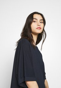 CALANDO - Jersey dress - dark blue - 4