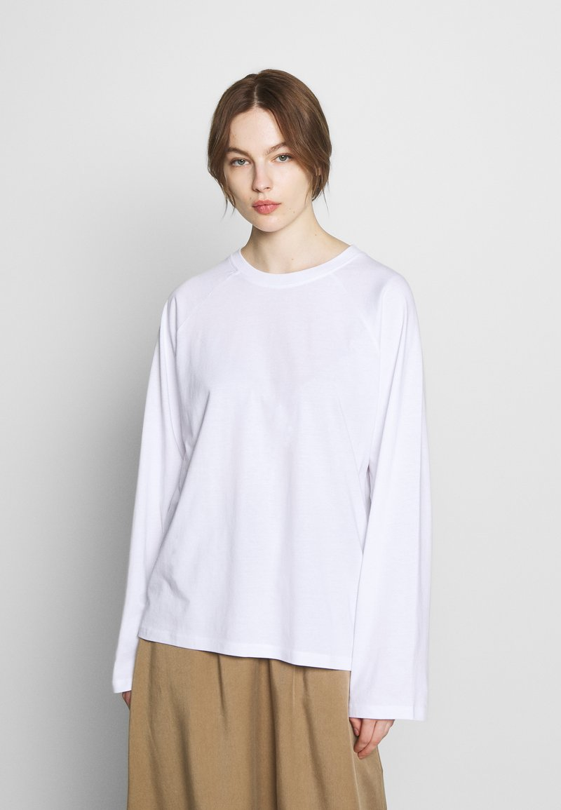 CALANDO - Long sleeved top - bright white
