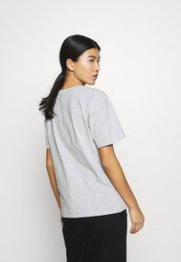 CALANDO - Basic T-shirt - light grey melange - 2