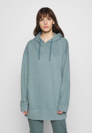 HOODIE DRESS - Jersey con capucha - goblinblue